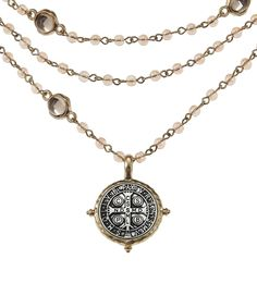 Running Wild Two-Tone San Benito Pendant Necklace