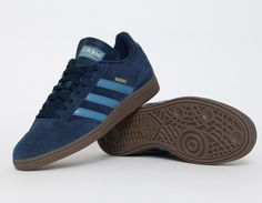 #adidas Busenitz Navy Gum #Skateboarding #Sneakers Holy hell love this