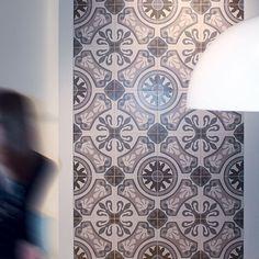 Arabic Grey Floor Tile 33.3 x 33.3cm   Tiles and Bathrooms Online