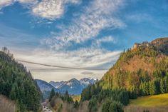 """Die Naturregion Reutte beherbergt ein monumentales Bauwerk. 114 Meter hoch und 400 Meter lang erstreckt sich die """"Highline 179"""" durch die Bergregion."""