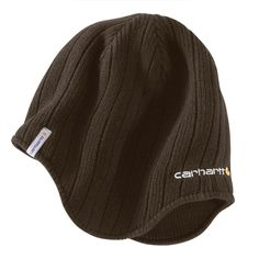 10637498d4b Carhartt Men s Dark Brown Firesteel Hat