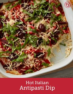 Italian veggies, salami and two kinds of cheese join forces in this match made in appetizer heaven. Italian Appetizers, Cheese Appetizers, Finger Food Appetizers, Holiday Appetizers, Appetizer Recipes, Italian Hot, Italian Style, Fall Recipes, Italian Recipes