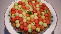 Meloenvlaai met mascarpone - recept | 24Kitchen