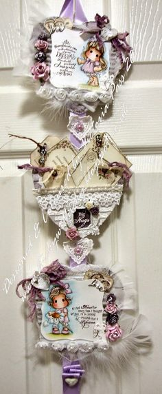 Live & Love Crafts' Inspiration and Challenge Blog: Heart Wall Hanging with Big Hugs