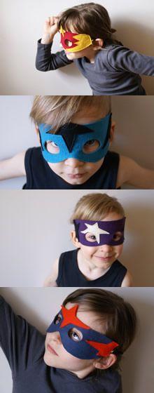 ateliersreinette: Superhero masks