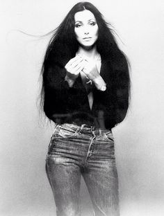 Cher and jeans