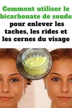 bicarbonate de soude anti rides