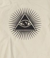 illuminati/satanic/Luciferian/Masonic all-seeing eye in a pyramid. They chose a Negative Path to the gateway to Intelligent Infiniti/Cosmic Consciousness