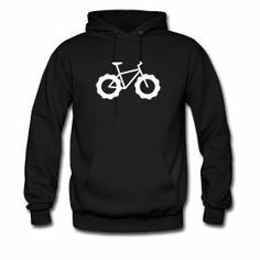 Knarly Fat Bike Mens Hoodie ~ 185 #fatbike #bicycle