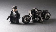 Mercenary Garage: Punisher  Image by Tiler  #Tiler #Lego #Punisher #Mercenary #MercenaryGarage