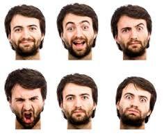 Risultati immagini per expresiones faciales