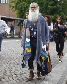 """andrealorenzofotografia: """" @angelogallamini #pitti #pitti90 #beard #andrealorenzofotografia #alf #street #streetstyle #streetstylephotography #firenze #florence (presso Fortezza da Basso) """""""
