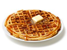 Almost-Famous Pecan Waffles Recipe : Food Network Kitchens : Food Network...our favorite waffle recipe (with or without pecans)