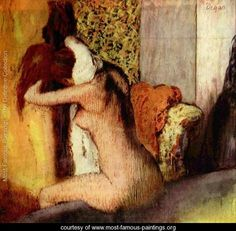 After the Bath, 1898  Edgar Degas