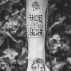 Jack of Hearts Tattoo Dope Tattoos, Arm Tattoos, Tattos, Sleeve Tattoos, Piercing Tattoo, Piercings, Jack Tattoo, Jack Of Hearts, Tattoo Ideas