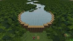 Yerka's Bible Dam in Minecraft