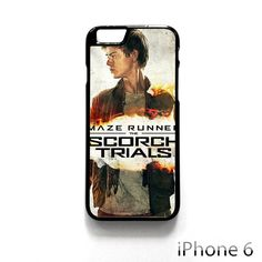 maze runner 2 thomas brodie sangster poster AR for iPhone 4/4S/5/5C/5S/6/6 plus phonecase