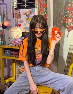 Korean Girl Photo, Korean Girl Fashion, Korean Fashion Trends, Ulzzang Fashion, K Fashion, Teen Fashion Outfits, Pretty Korean Girls, Cute Korean Girl, Asian Girl