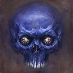 Hypno-skull by Verehin.deviantart.com on @deviantART