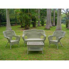 International Caravan Chelsea Wicker Resin Steel Deep Seated Patio Chair & Reviews | Wayfair