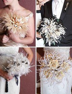 ramos de plumas! http://www.miboda.tips/