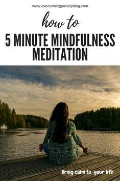 quick mindfulness meditation
