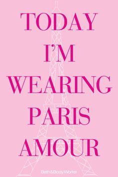 Shouldn't you? #ParisAmour