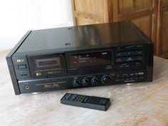 Vintage 3-head AKAI High End Stereo Cassette Deck GX-95