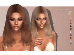 updates the sims 4 Sims 4 Tsr, Sims Cc, Sims 4 Mods Clothes, Sims 4 Clothing, Mod Hair, Sims 2 Hair, The Sims 4 Cabelos, Pelo Sims, Sims 4 Game Mods