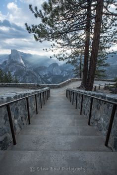 ~~Stairway to Heavenly | view from Half Dome, Yosemite National Park, California | by steve bond photog~~