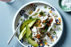 This refreshing salad of crabmeat, carrots, capers, basil and avocado brightened with lime zest comes together in just 15 minutes.