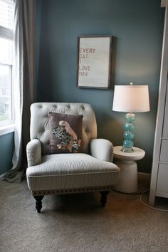 reading corner in bedroom - would love to create this one day in our bedroom .. we have that exact corner space
