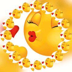 Dla każdego: BUZIACZKI Perfect Emoji, Emoji Love, Life Is Strange, Kiss Animated Gif, Cute Couple Gifts, Animated Emoticons, Emoji Images, Heart Gif, Morning Inspirational Quotes