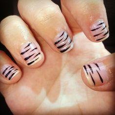 My nails :) shellac.