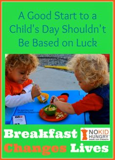 A Good Start to a Child's Day Shouldn't Be Based on Luck -- Breakfast Changes Lives from The Good Long Road