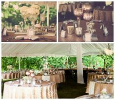 James & Nadine, Vintage Glam Meets Rustic Chic, Outdoor Ceremony & Wedding Reception, Shepherd's Hill Farm, Southern Mn, Midwest Real Wedding Inspiration, Decor and Sequin Overlays from Imagination at Work.  Images: SR Photography