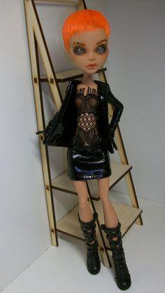 Monster High  Cleo de Nile OOAK Repaint Custom by AnikaMissik #Mattel #Dolls