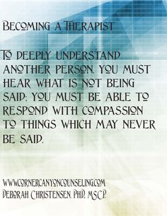 33 Best Becoming a Therapist images in 2013 | Counseling psychology