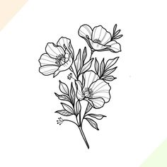 ➕California poppies➕ dear Angelenos, I'm dying to go to a poppy field, any recommendations? (at Los Angeles, California) Body Art Tattoos, Small Tattoos, Sleeve Tattoos, Poppy Tattoo Sleeve, Black Tattoos, Tattoo Sketches, Tattoo Drawings, Future Tattoos, Tattoos For Guys
