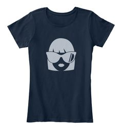 Chic New Navy Women's T-Shirt Front #sale #clothing #fashion #apparel #men #women #man #woman #casual #chic #trend #trendy #shirt #tshirt #t-shirt #fun #funny #young #youth #youthful #salon #spa #simple #beauty #quality #forsale #girl #boy #collection #vocabinc #world #global #techno #technology #gadget #smartphone #computer #online #web #lifestyle #face #silhouette #geek #elegant