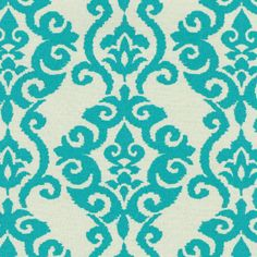 I love this pattern!!!! Its 9.99 at Joann Fabrics. Think  I will decorate my new cubicle at work with this for a calming relaxing creative environment.  Waverly Sun N Shade Outdoor Fabric- Luminary Turquoise at Joann.com
