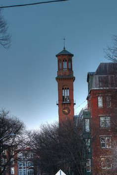 St. Paul's bell tower. DiscoverHarvardSquare.com