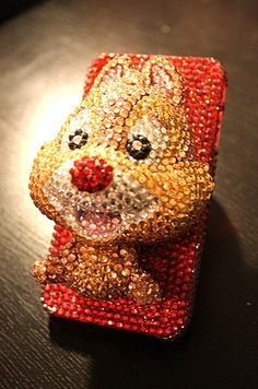 Disney chip and dale crystal iphone case by JACOBVERONIKA on Etsy, $60.00