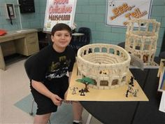 Middle School Library Media Center / Sixth Grade Ancient . History Projects, School Projects, Projects For Kids, School Ideas, Ancient Rome, Ancient History, Nasa History, Archaeology For Kids, Experiment
