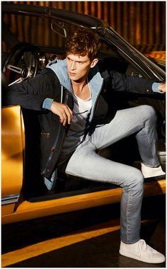 Mathias Lauridsen Stars in Hugo Boss Oranges Spring 2013 Campaign