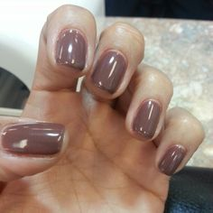 """Opi Gel """"Wooden shoe like to know"""". Just got this today & it rocks! Opi Gel Nails, Opi Nail Colors, Get Nails, Hair And Nails, Manicures, Subtle Nails, Toe Nail Designs, Teacher Favorite Things, Gel Color"""