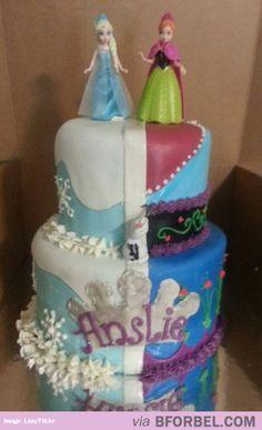 Frozen-Themed Cake…