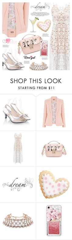"""Rosegal : Spaghetti Strap Dress"" by viebunny ❤ liked on Polyvore featuring jcp, Wilton, Casetify, pretty, dress and rosegal"
