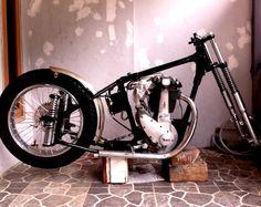 #BSA #B31 #motorcycle #classic #vintage #old #rebuild #chopper #bobber #raisa