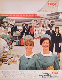 vintage twa 707